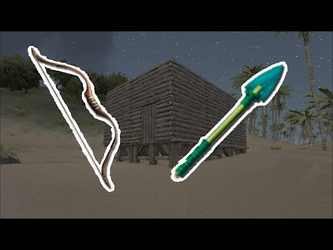 Ark Survival Evolved S1 #9 - Bow + Tranquilizer Arrows