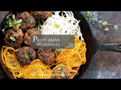 Paleo Asian Meatballs ! (Paleo/Keto/Whole30)