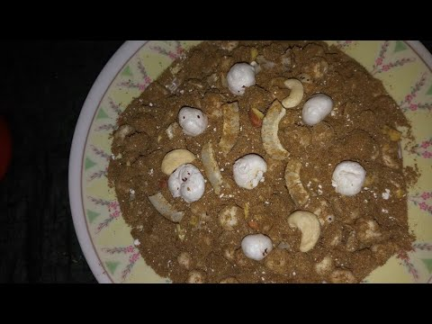 Panjiri recipe in Hindi