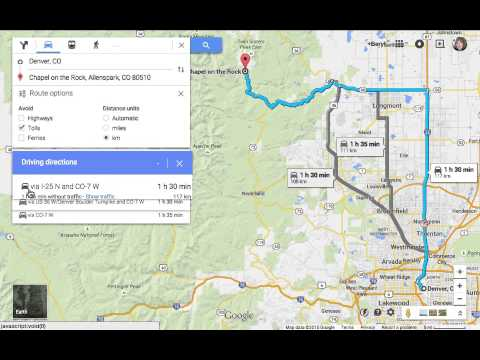 Avoid Tolls and set Kilometers in New Google Maps