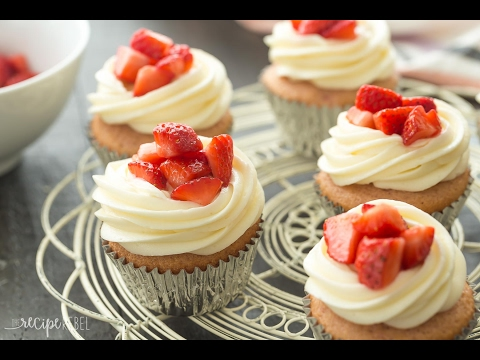 Strawberry Cheesecake Cupcakes Recipes