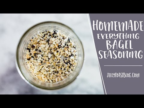 How to Make Everything Bagel Seasoning | Jelly Toast