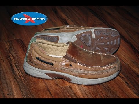 Rugged Shark Bill Dance Angler Boat Shoe Review and Discount Code