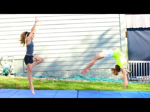 How to do a Roundoff Back Handspring