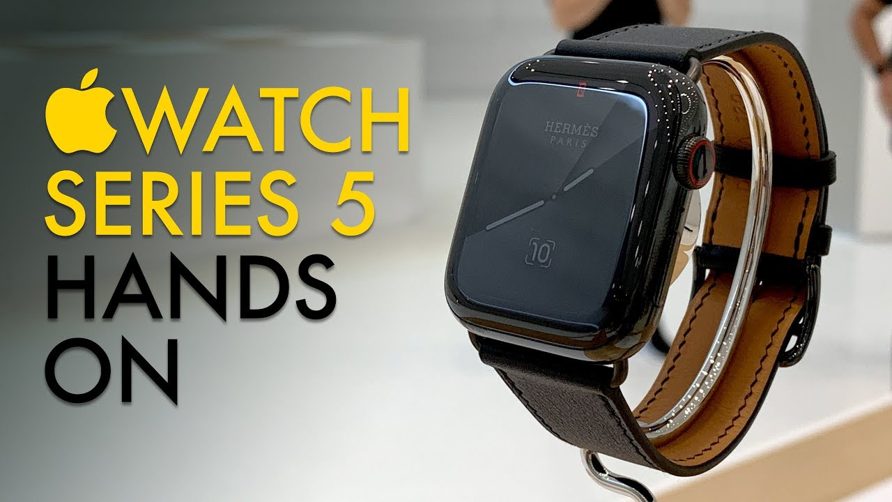 Apple Watch 5: Hands-On With Always-On