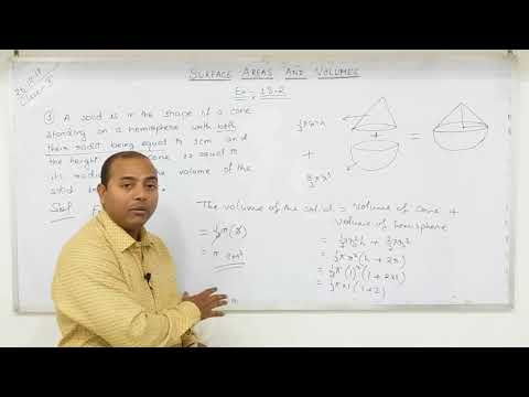 CLASS 10 Surface Areas and Volumes  (Part-6)