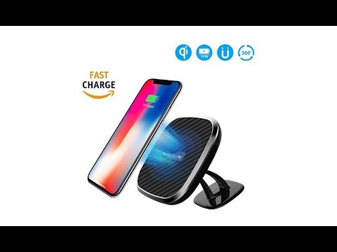 Nillkin Fast Wireless Car Charger 2nd Gen 2-in-1 10W Qi Charging Pad Unboxing and Quick Review