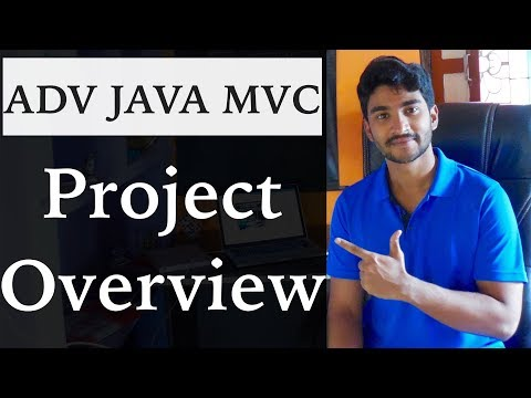 Project Overview || Building Web app in JAVA using the MVC architecture || MVC with JSP and Servlet