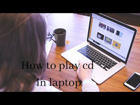 how to play CD in Laptop in slow motion  | How to open CD in computer | how to run CD in laptop
