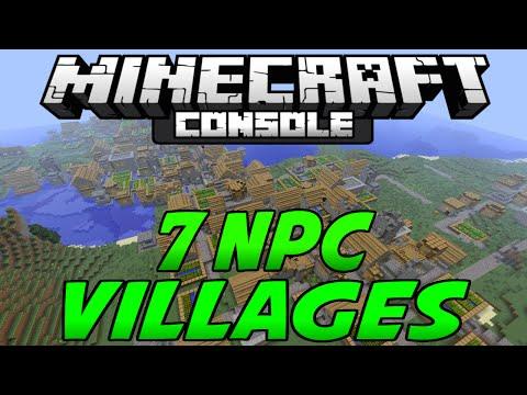 Minecraft PS3 & Xbox 360 - 7 NPC Villages! - TU25 Seed Review - (PS4/XboxOne/PSVita)