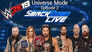 WWE 2k19 Universe Mode - SmackDown Episode 1 - PakVim net HD