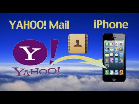 Yahoo Address Sync: How to import or export Yahoo! email address book to iPhone 6/5S/5C/5