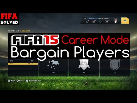 FIFA 15 Career Mode Bargain Players