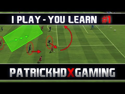 Fifa 14 | I Play - You Learn | 'Amazing Teamplay' - Attacking Tutorial | Episode 1 | PHDxG
