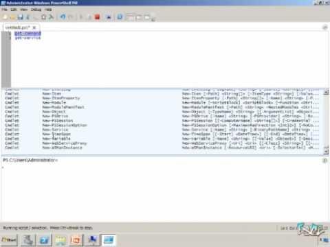 Windows Server 2008 R2 Quick Look #3 - PowerShell V2