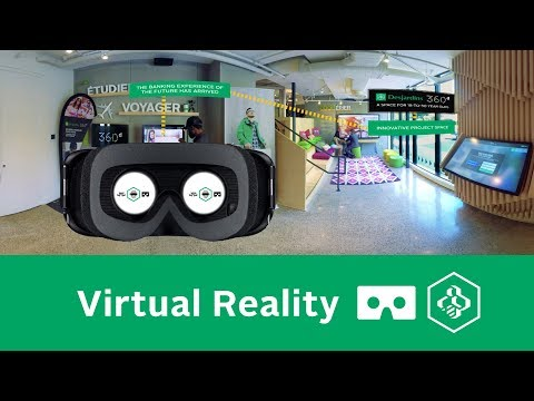 Desjardins Marché Central VR Virtual Reality 360 Degree Video | iAmGenius VR