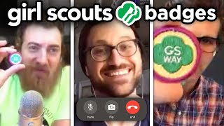 We Earn A Girl Scout Badge