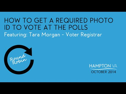 How to get a required photo ID to vote at the polls