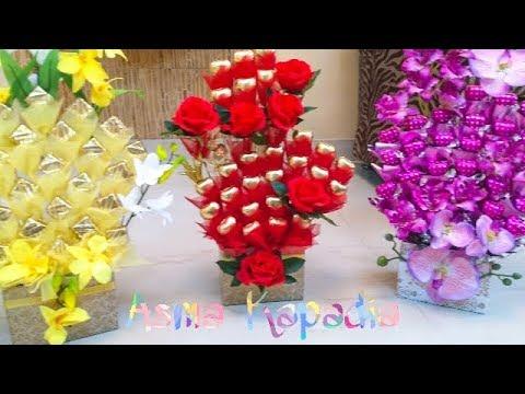 Chocolate Bouquet | Food Hamper | Dates Bouquet | Dress packing