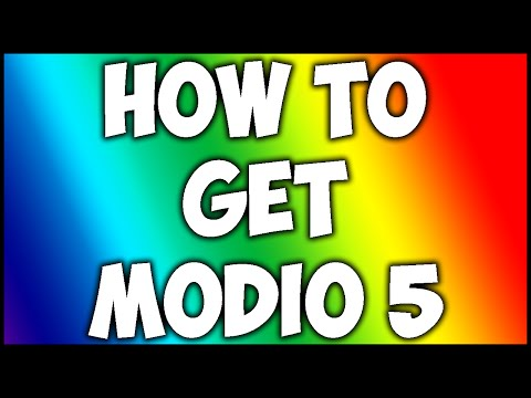 How To Get Modio 5 (2016)
