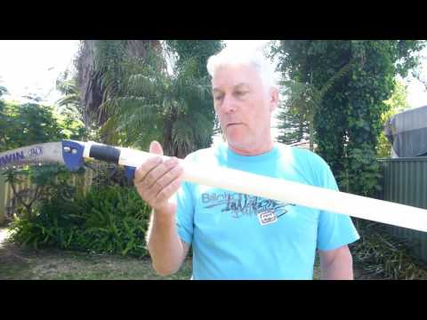 Cocos Palm Pruning using a Home Made Pole Saw