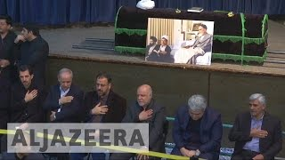 Iranians pay tributes to former president Rafsanjani