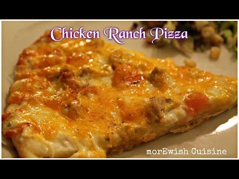Chicken Ranch Pizza by morEwish