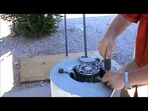 Fix Your Own Air Conditioning - How to Change an Indoor Fan Motor
