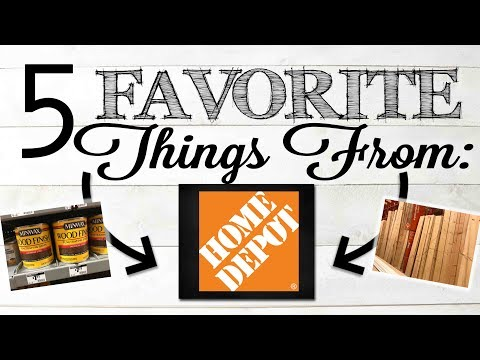 5 FAVORITE Things From Home Depot