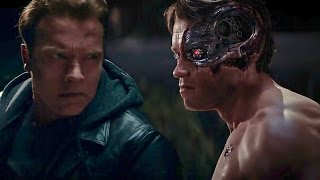 Terminator Genisys | Old vs Young Arnold Fight | Arnold Schwarzenegger : I