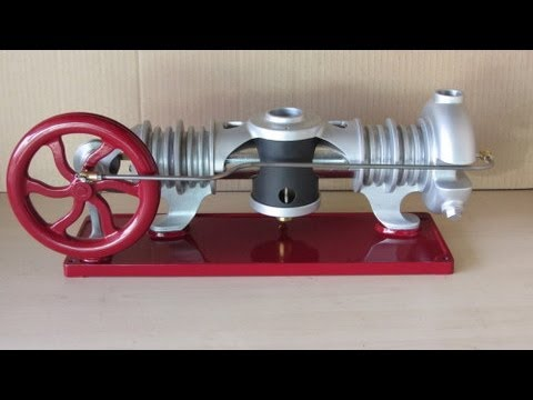 Building the Essex Hot Air Engine Part 15 Finished Engine