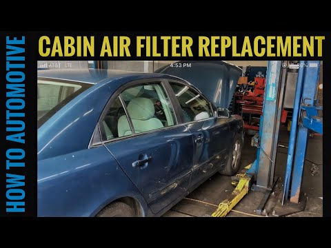 How to Replace the Cabin Air Filter on a 2006 Hyundai Sonata