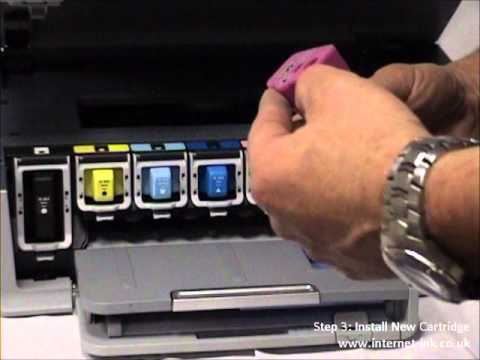 How to Install an HP Ink Cartridge In HP C5180 Printer