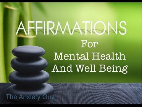Powerful Daily Affirmations for Anxiety, Chronic Stress, Panic Attacks
