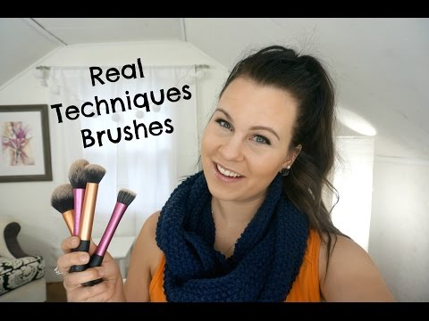 Real Techniques Brushes Review & Demo | Affordable High Quality Makeup Brushes