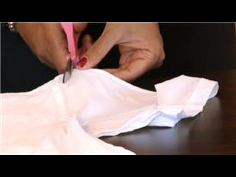Making T-Shirts : How to Cut the Arms Off of a T-Shirt