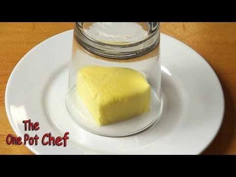 Quick Tips: Softening Butter in Moments | One Pot Chef