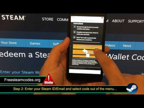 Free Steam Wallet Codes - How to Get Free Steam Codes - Free Steam Games (2017)