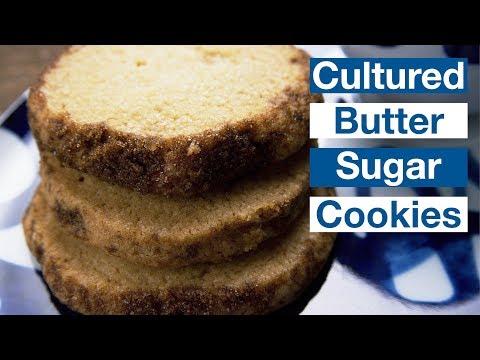Cultured Butter Sugar Cookies Recipe    Le Gourmet TV Recipes