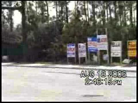 Illegally Placed Campaign Signs