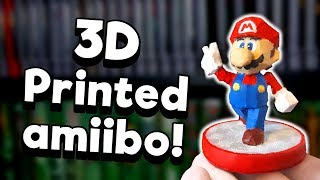 3D-Printed Custom Amiibo - DIY!   Nintendrew