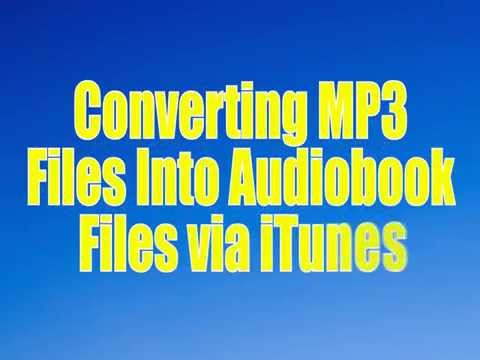 Converting MP3s to Audiobook Files in iTunes - Rod Machado Products