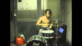 Death Grips - Whammy (drum cover)