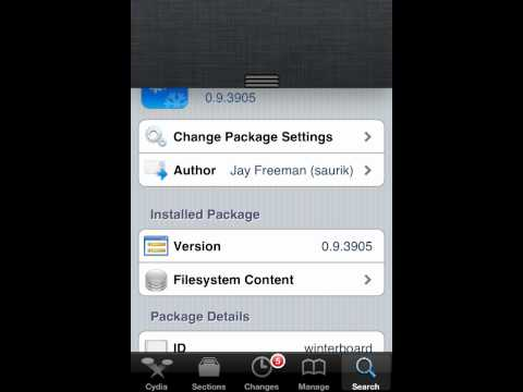 How to change themes with cydia