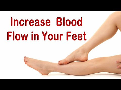 Seven Strategies to Increase Blood Flow in Your Feet in 20 Days