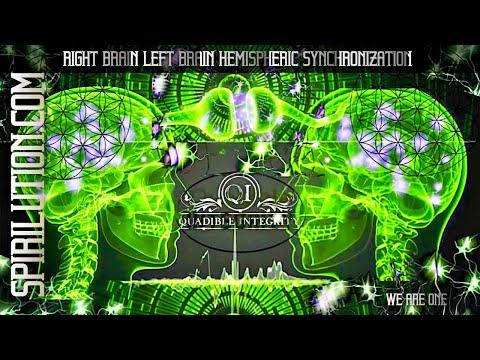 ★Left Brain / Right Brain Hemispheric Synchronization Formula★ Quadible Integrity