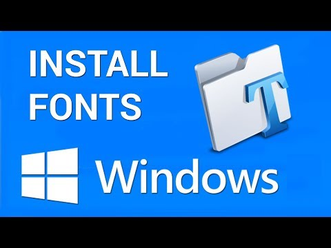 How To Install Fonts In Windows | Just IT Tricks