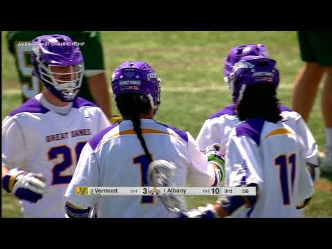 UAlbany Men's Lacrosse Wins America East Championship