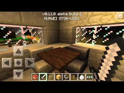 Portal al nether en Minecraft PE 0.11.0 xD