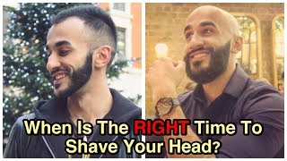 WHEN IS THE RIGHT TIME TO SHAVE MY HEAD? (Hair Loss Is A MENTAL Hurdle You Must Overcome)
